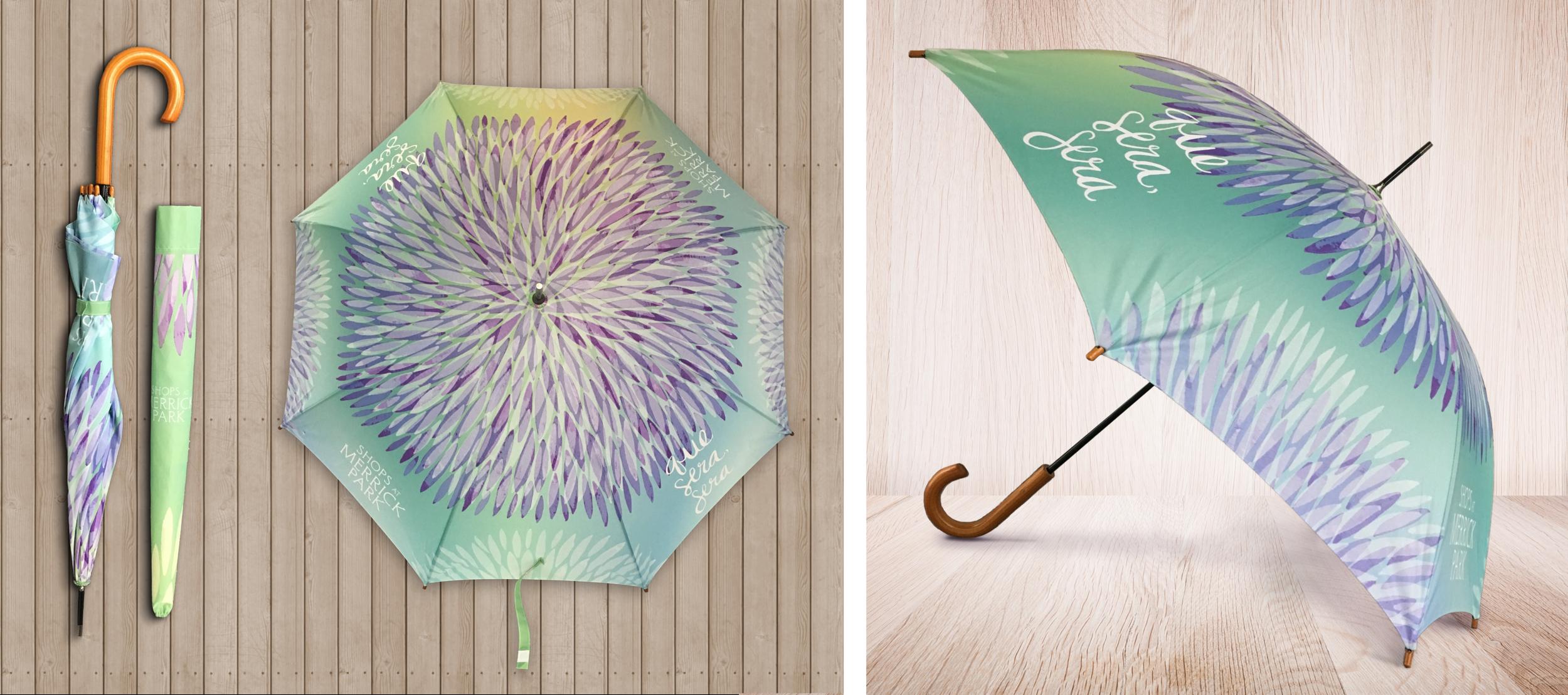 Merrick Park Custom Umbrella