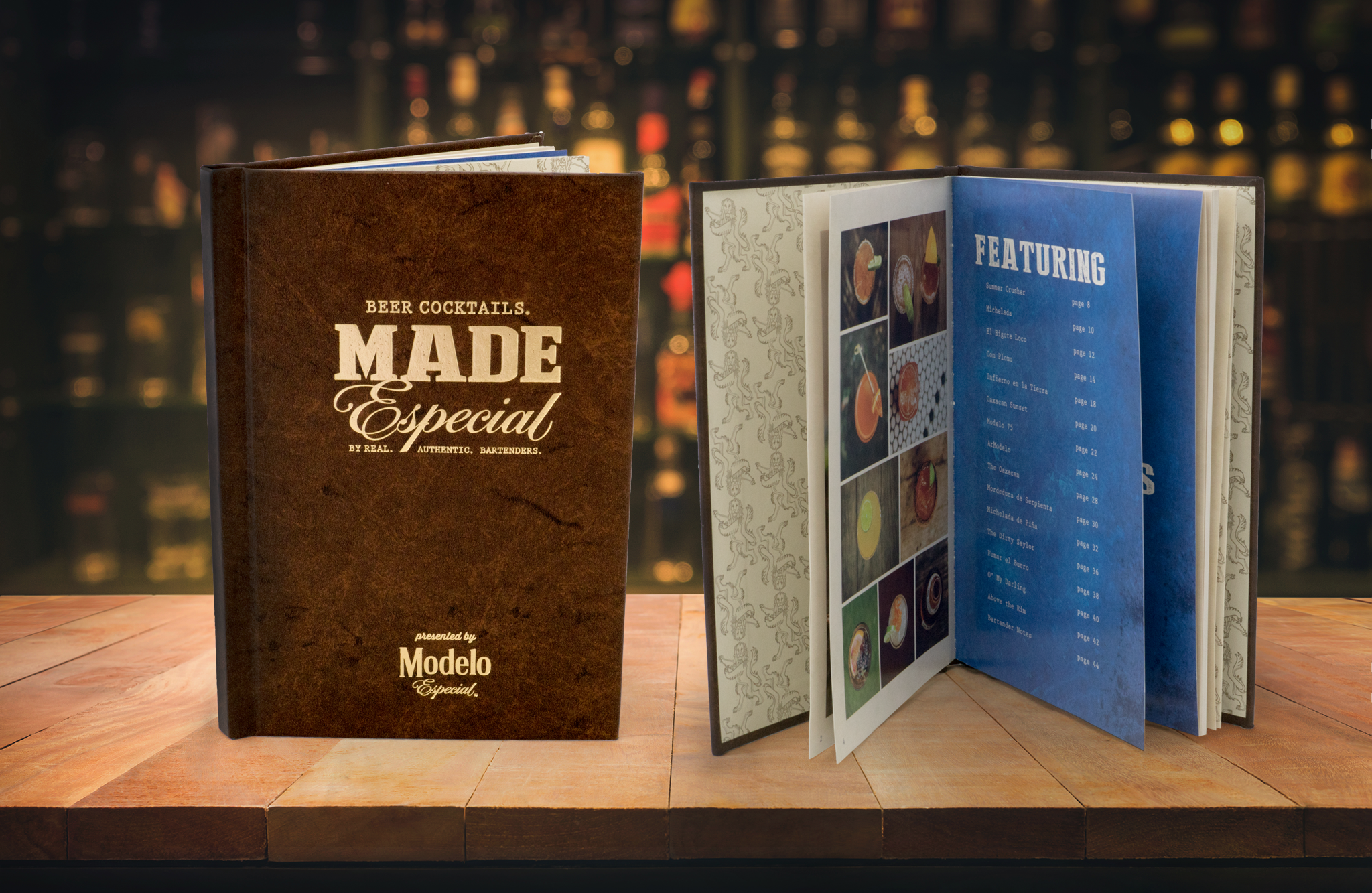 Made Especial Modelo Book