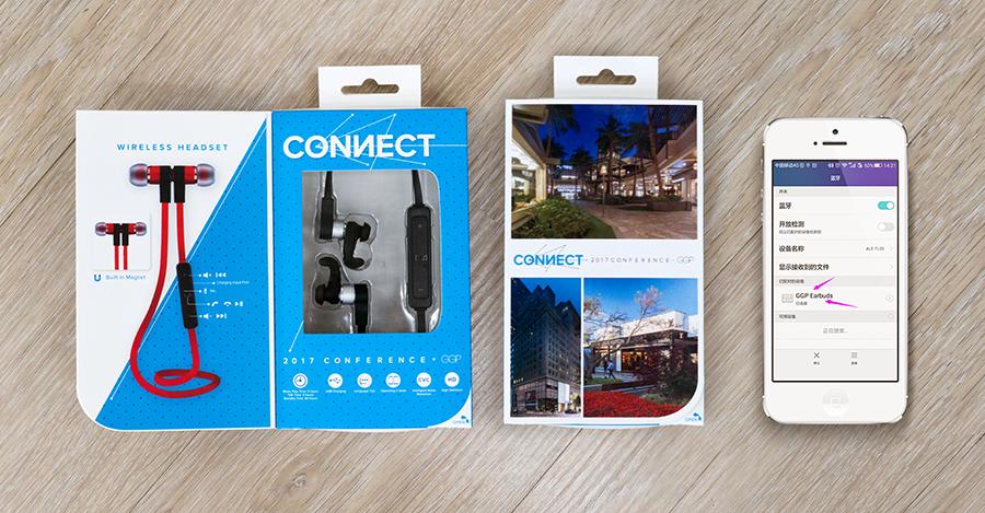 GGP Earbuds with Custom Packaging