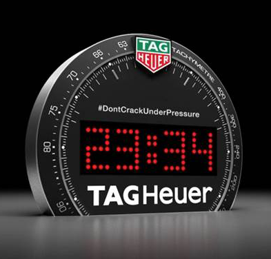 Tag Heuer Desk Clock