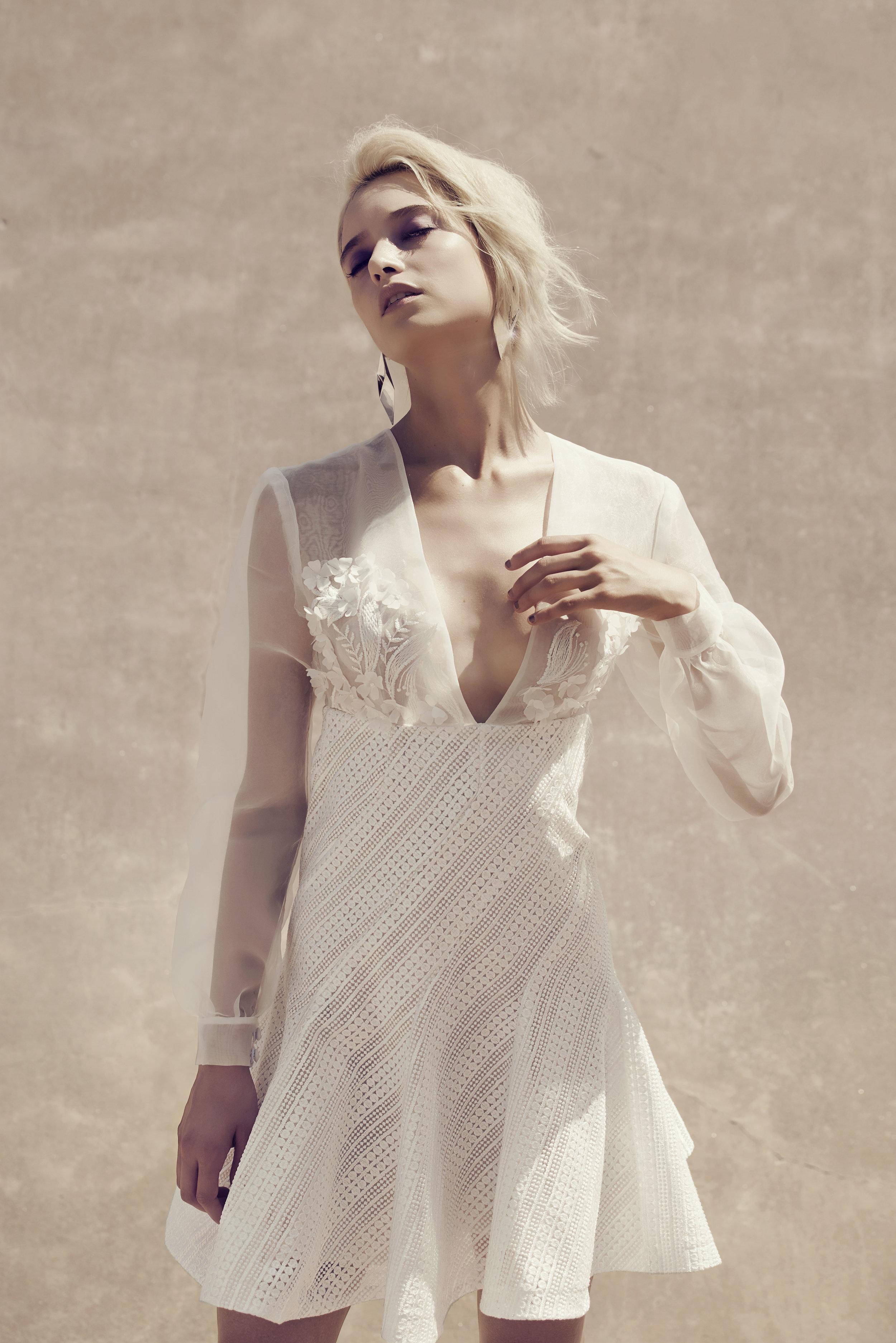 Olivia Lace Spiral Dress