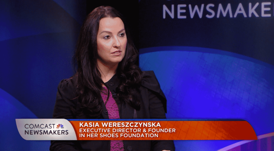 Click to watch an exclusive interview with the Founder of In Her Shoes Foundation!