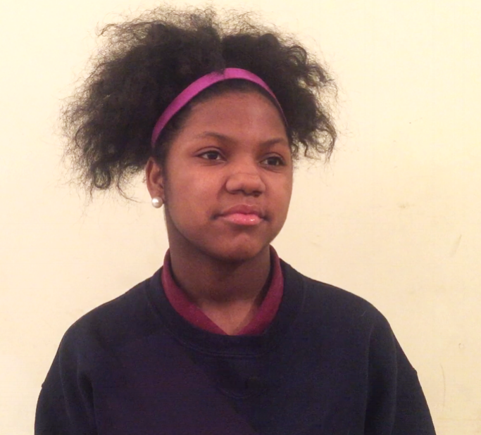 """Student Testimonial - """"This program taught me to be more confident. I used to just sit back, but I've started speaking up, and I'm standing up for myself a lot more.""""- Ready Set Girls Academy Student"""