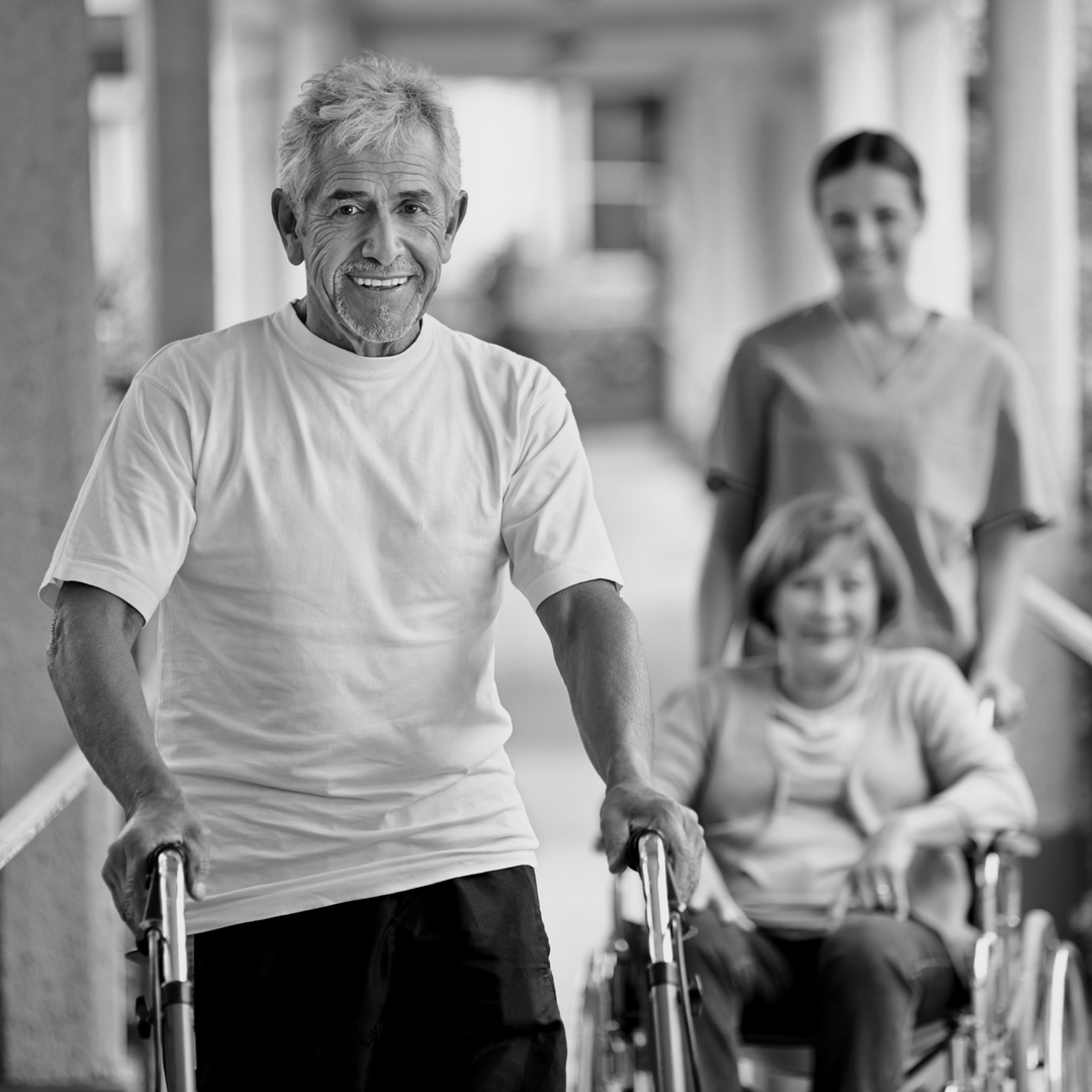 Living with assisted help - such as aged care, disabilities, recuperating from illness or complex medical needs