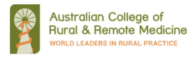 ACRRM logo image