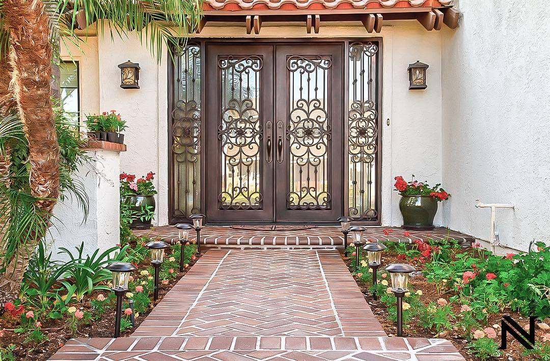 Custom Iron Door in Huntington Beach, CA by Baltic Iron Doors