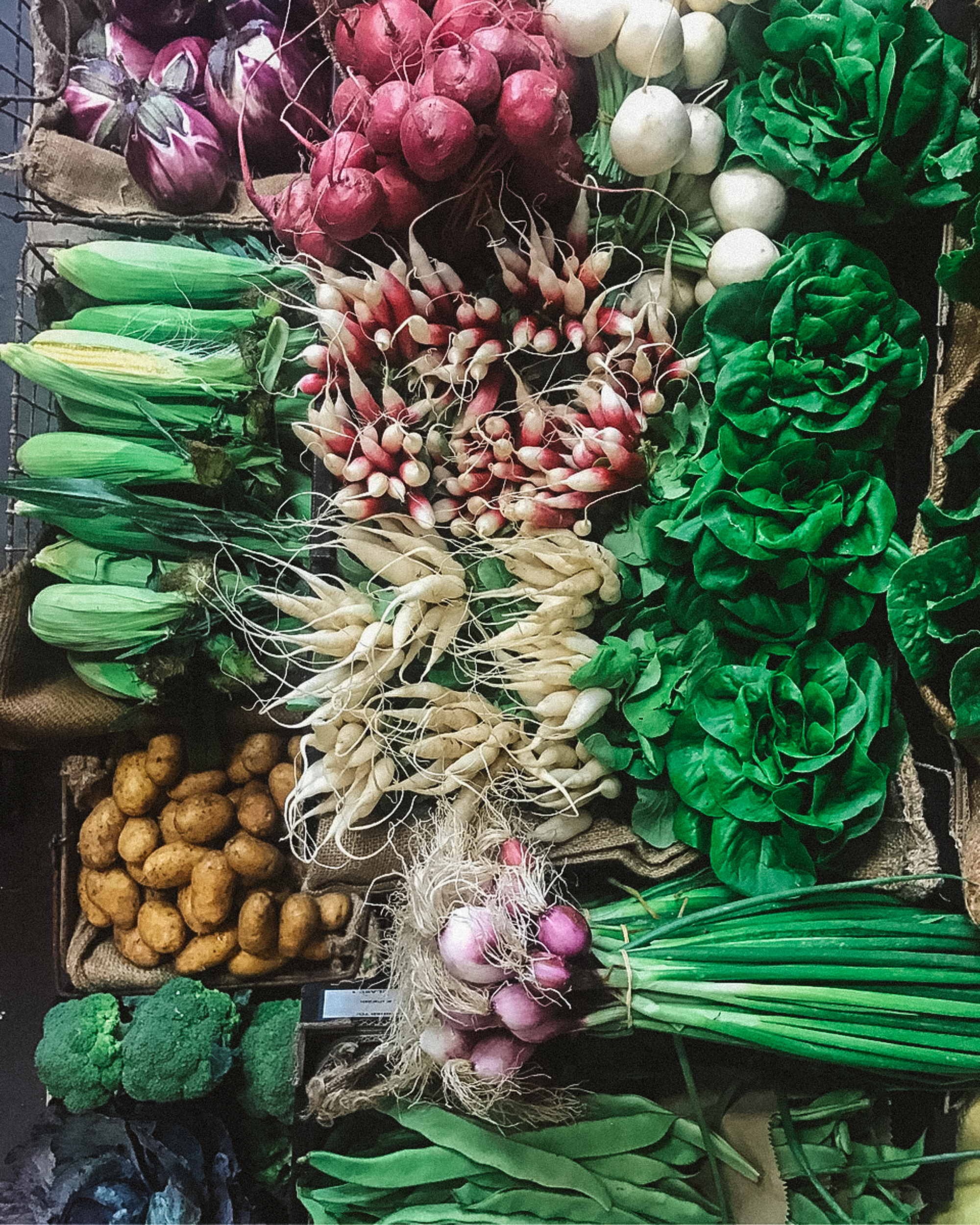 super seasonal produce direct from local growers -