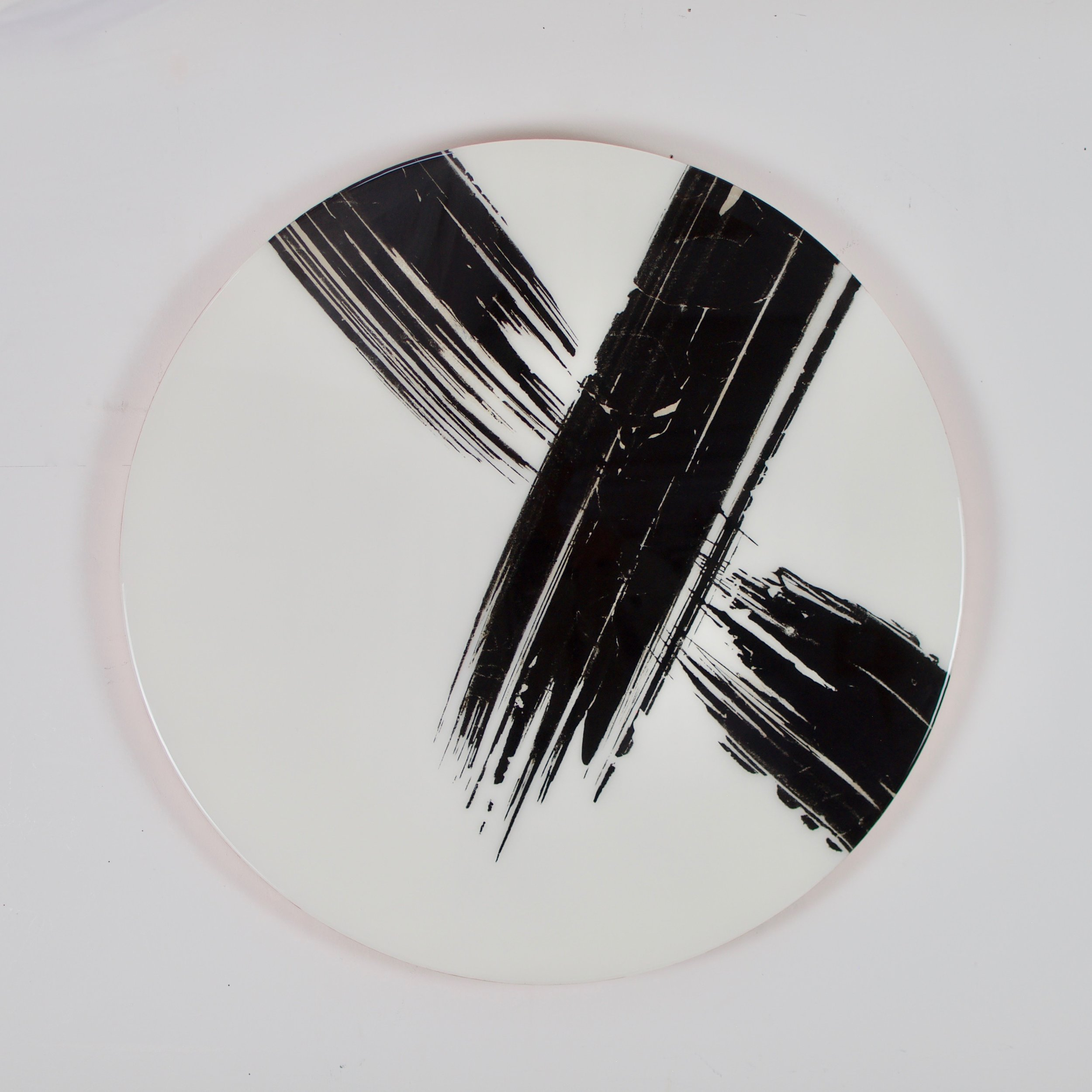 Interupted Flow, 2018_Rod McIntosh_Indian ink on Chinese mulberry paper, on Fabriano cartridge (120gsm) on Birch panel, copper leaf, resin coated_80cm diameter a 28mm.jpg