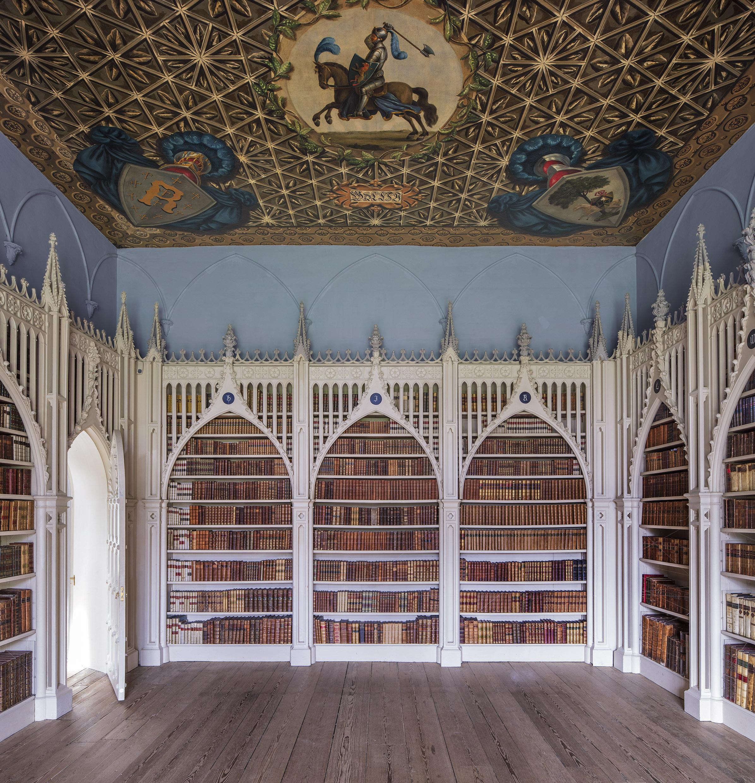 424-909-15 Horace Walpole's Library Twickenham.jpg