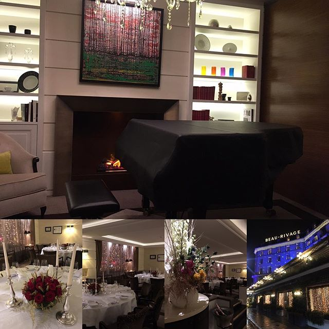 Inside the scenes, pre-concert. Awesome jazz piano evening for a private audience at one of Geneva's premier restaurants, the Michelin-starred Chat Botté. Anything is possible. #class #quality #music #jazz #geneva #geneve #luxury