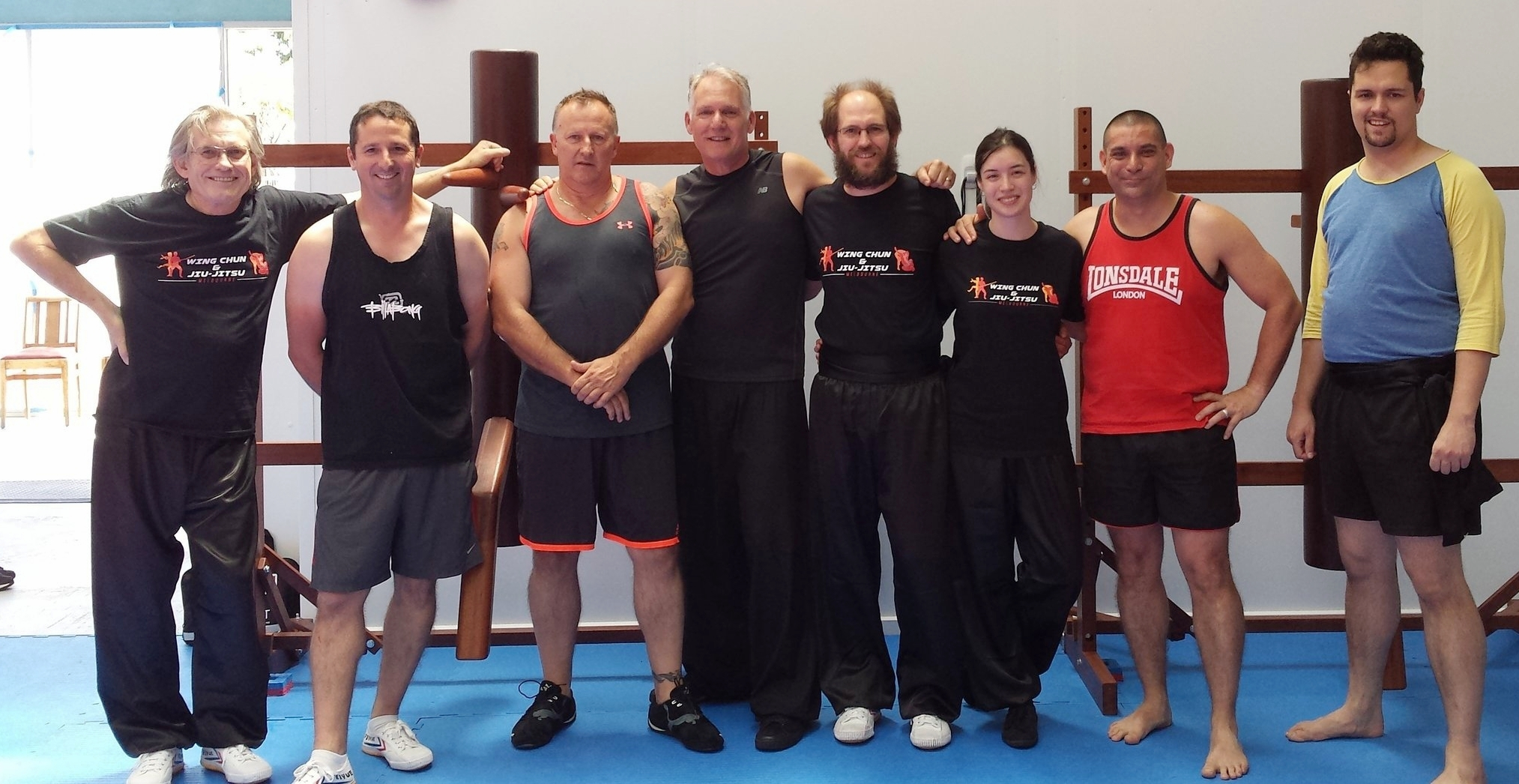 Our first class at Wing Chun & Jiu-Jitsu Melbourne on the 6th January 2018.