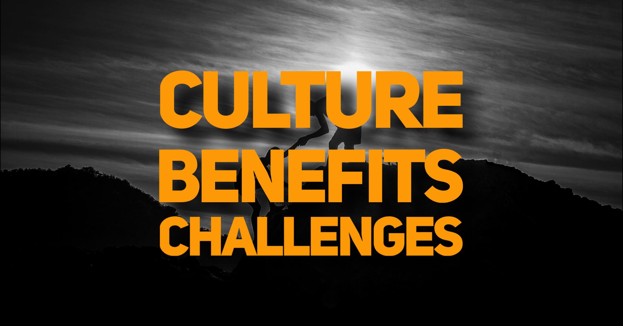 Culture Benefits Challenges
