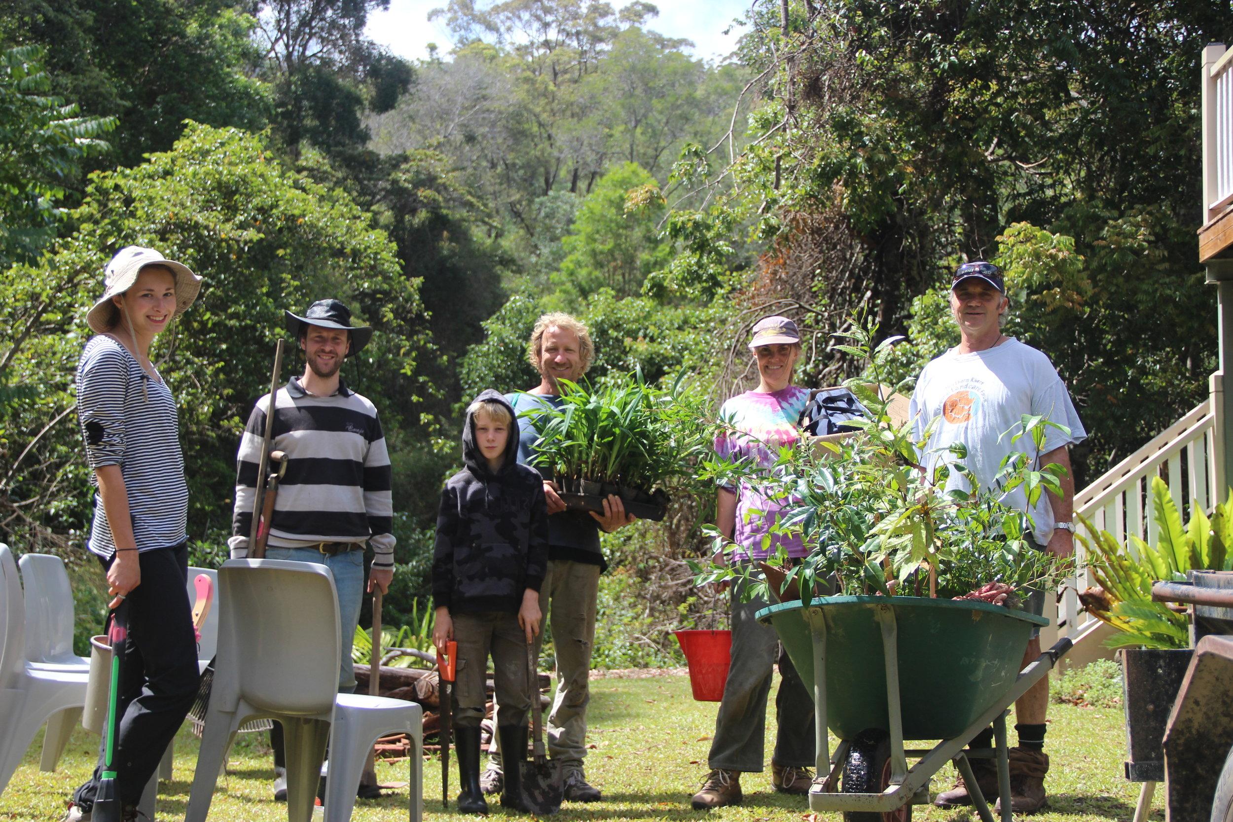 Foresthaven Community Rainforest Regeneration