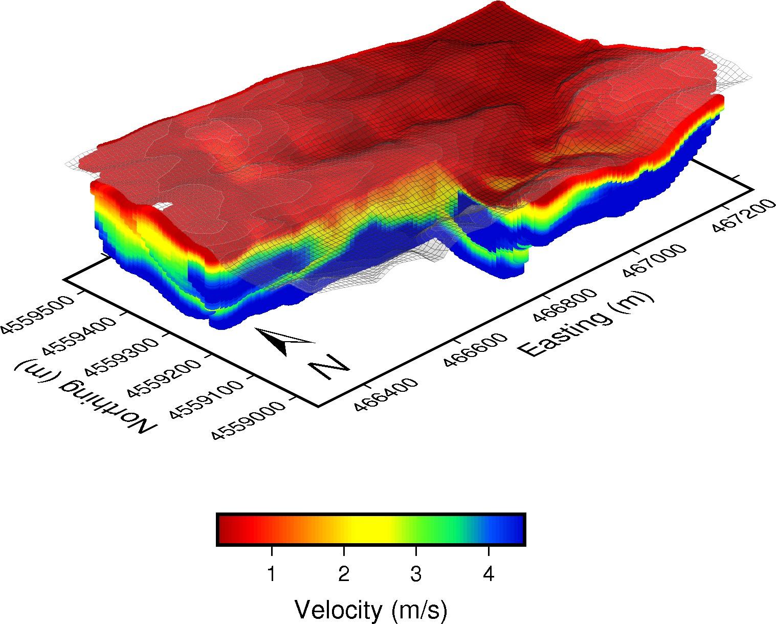 A 3D Block Diagram — Clemson Critical Zone Geophysics [ 804 x 1000 Pixel ]