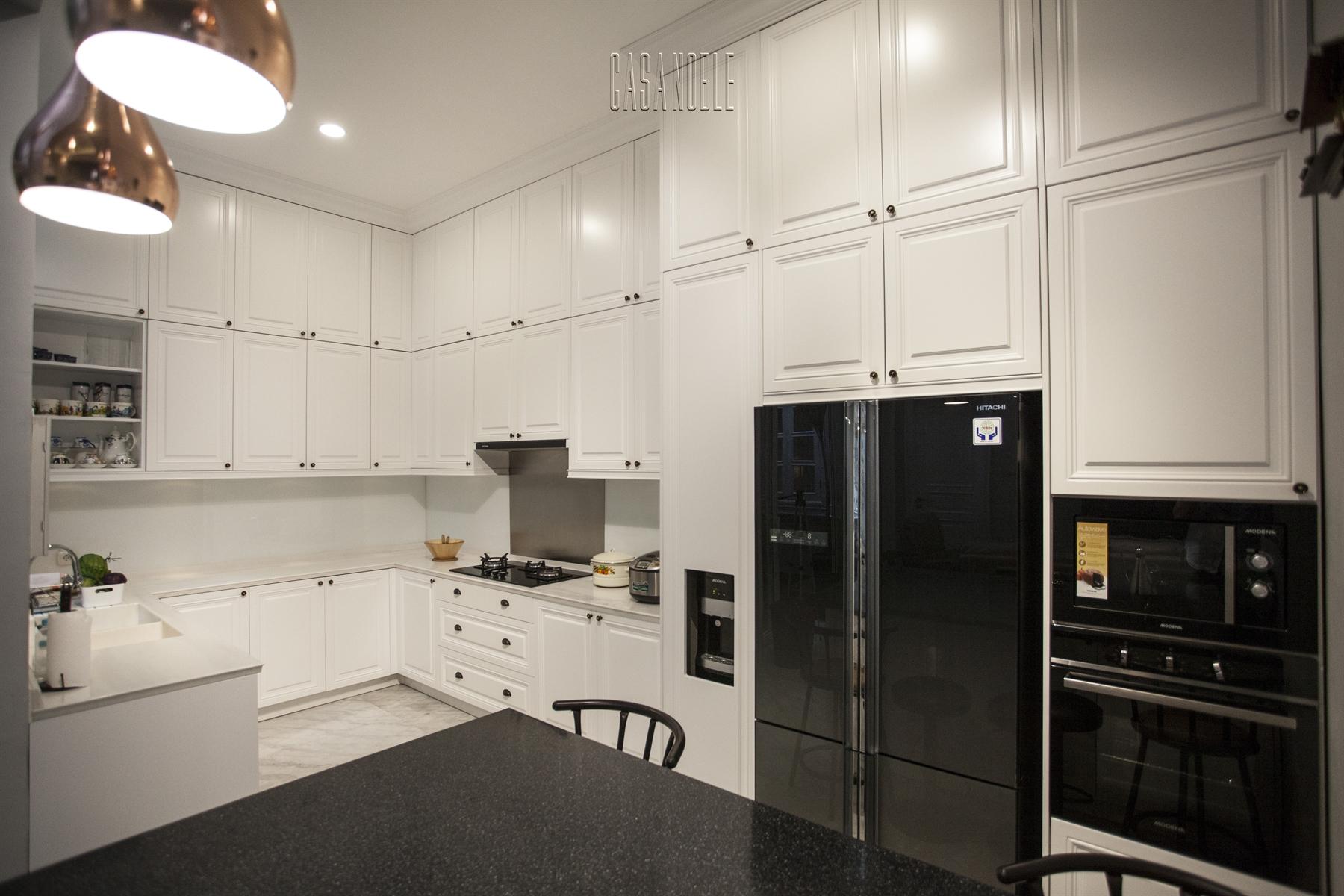 Kitchen Set American Style Bu Fermiyanti