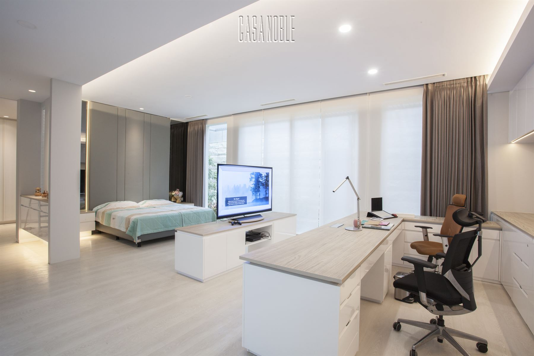 Master Room (Custom Bedroom and Office)