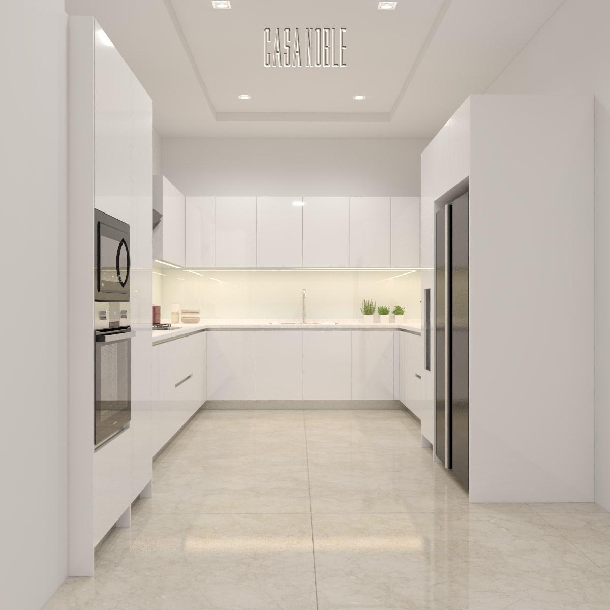 White High Gloss Kitchen Mrs. S