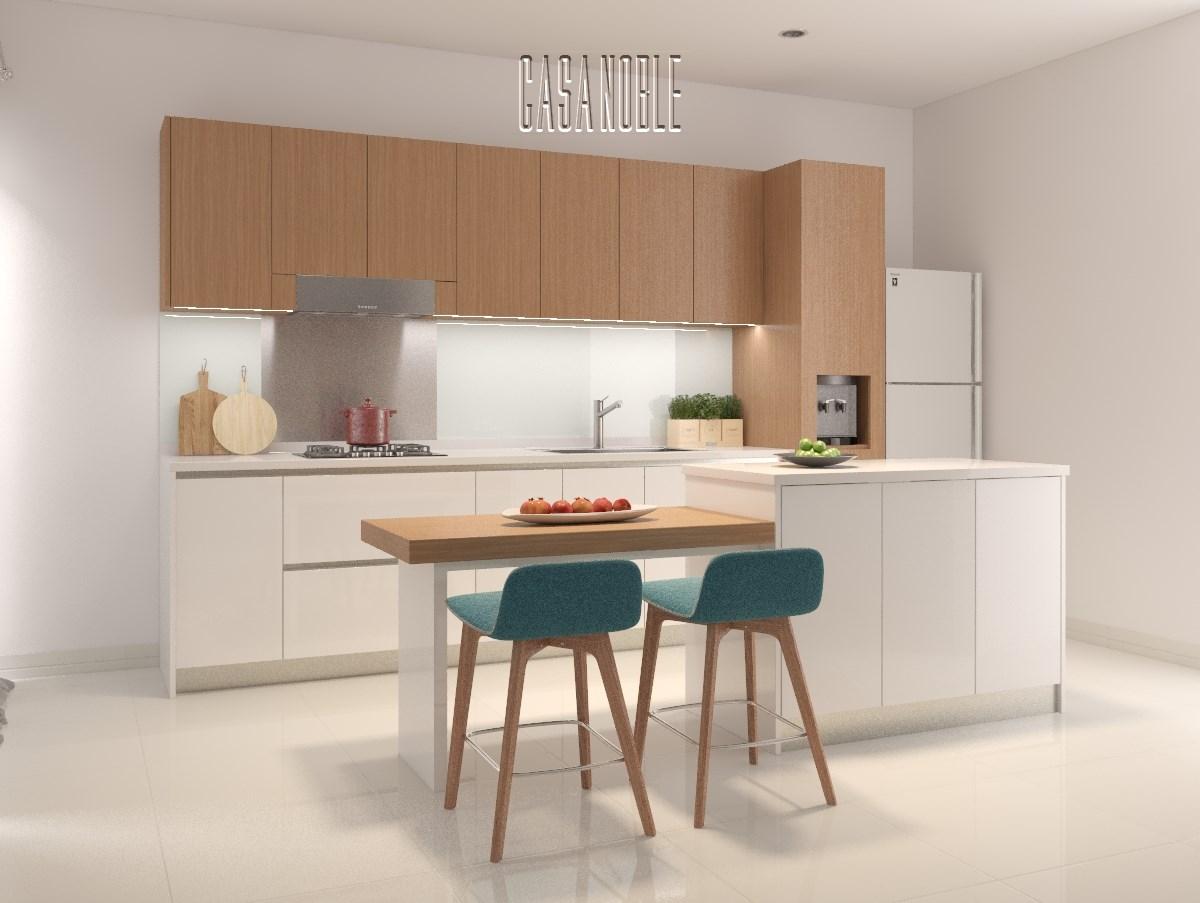Laminate and High Gloss Kitchen Set Mrs. D