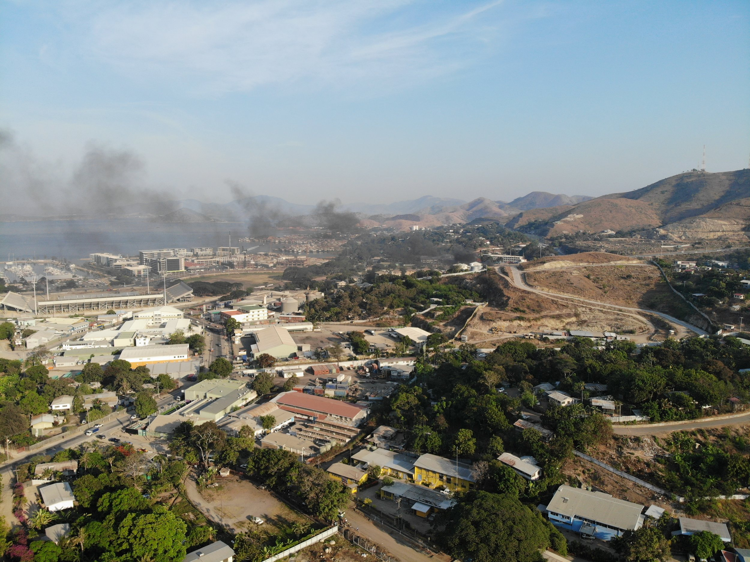 Port Moresby can shift from relaxed friendliness to violent intensity in an instant.