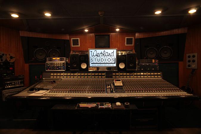 Studio 1 - Photography. Westland Studios. Control Room. Music. Dublin, Ireland