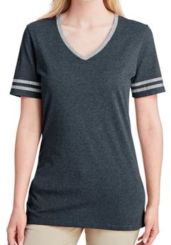 Black Heather with Oxford Varsity T-Shirt.JPG