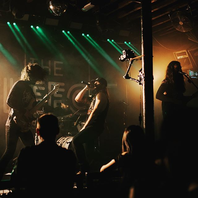 A little Monday morning metal! Big up to @glk.media for the amazing photograph. We're just finishing up a bunch of work and will be announcing new stuff soon 🤘🏼 #bristolmetal #bristol247 #bristolbands #music #metal #itap #musicphotography #livemusic #hardrock #heavymetal