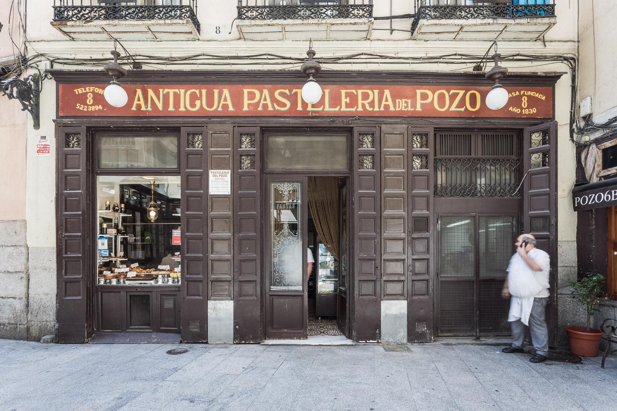 Desde 1830 en Calle del Pozo 8, la panadería más antigua de España.