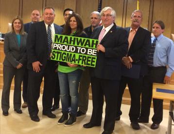 Mahwah Town Council, Signing of Stigma-Free Declaration