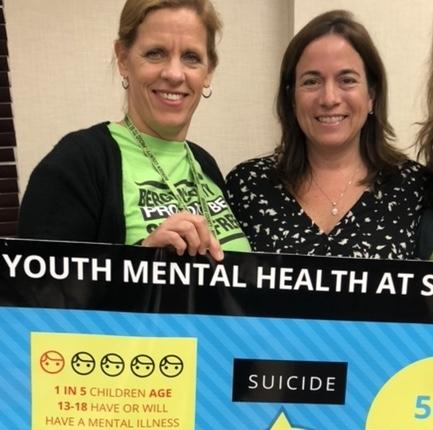 Michele Hart-Loughlin, Director Bergen County Division of Mental Health, Sharon Pushie, Mahwah Stigma-Free
