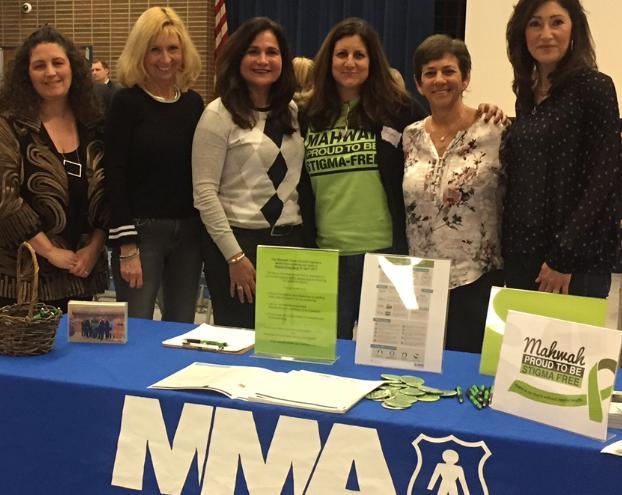 Mahwah Municipal Alliance (MMA) and Mahwah Stigma-Free at MMA's Vaping Awareness presentation