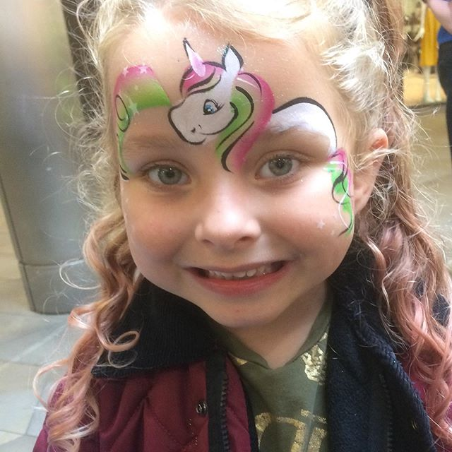 We'll be back next Friday and Saturday for more #facepainting at the #WorcesterFestival Jane in Bell Square, Jo in Friary Walk, 11am to 3pm both days. Come and see us! Free or donations gratefully received towards the festival. #funkyfacesworcs #worcesterfestival2019 #worcester #worcestershire #visitworcester #visitworcestershire #facepaintertohire
