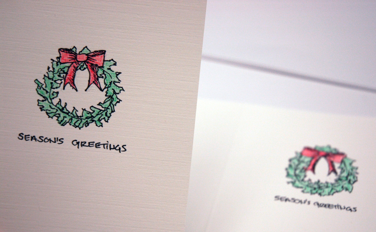 Season's Greetings from our team at Innovant to you and yours!   Consider sharing personalized, hand-drawn cards like these by our very own Marketing Designer, Deborah Herr.