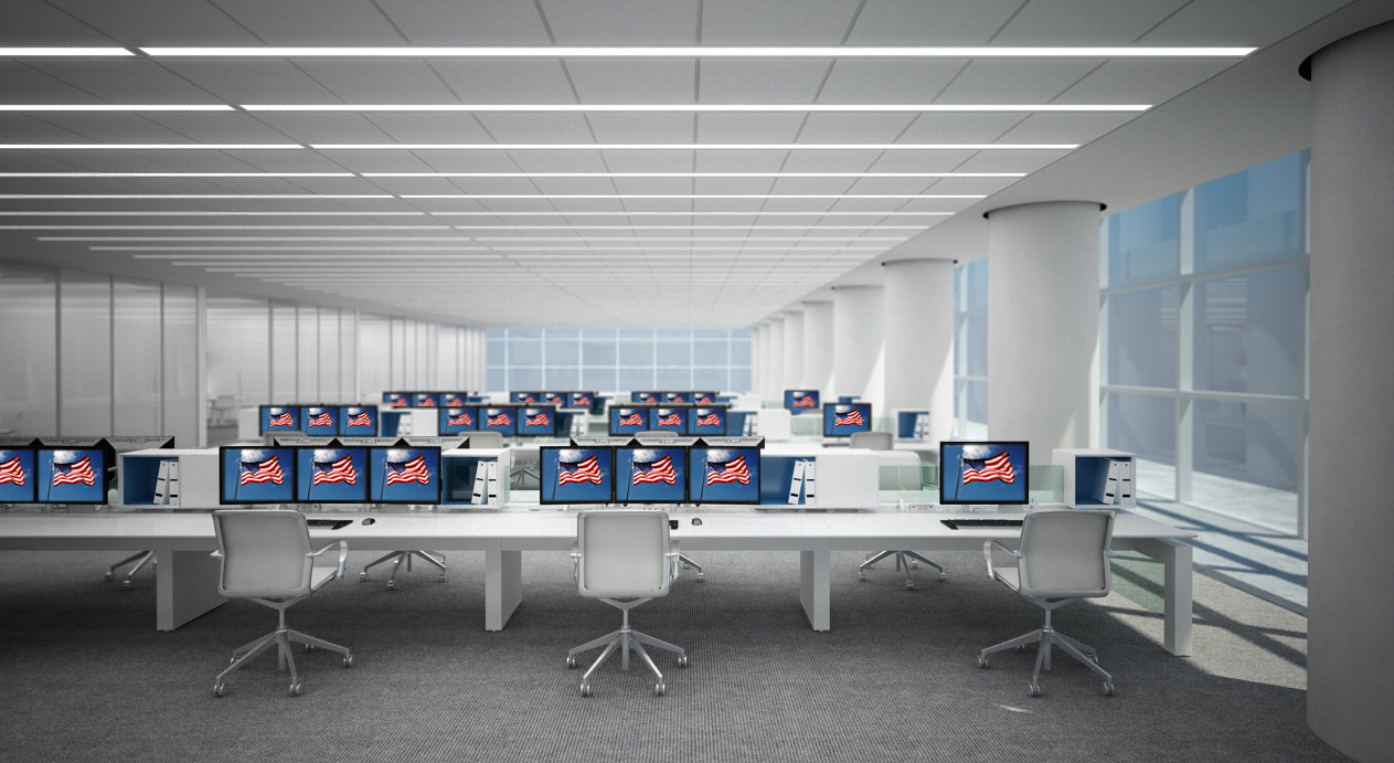 Here's an #InnovantRed, white and blue installation in honor of July 4th! Happy Independence Day!    For more information on FORm_office or other Innovant products, visit our  website .      Click the image to zoom in.