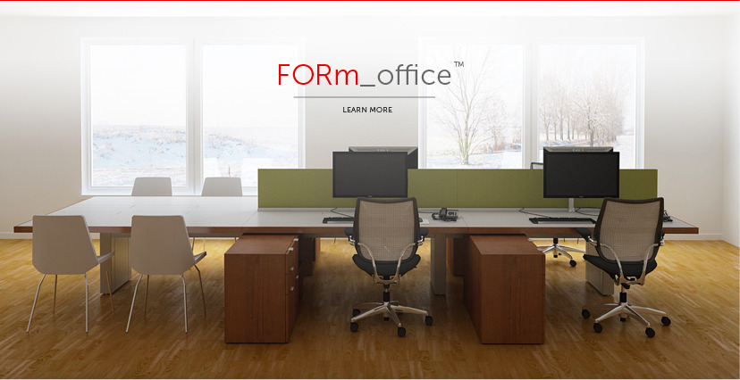 "FORm_office  a New Standard at Major Financial Institution   More than 2000 employees will be moving from a traditional cubicle environment to bench workstations within the next 18 months. The requirements are focused on real estate efficiencies, such as footprint and densification, as well as effective user tools- ample personal storage, technical flexibility, brand expression, and collaboration.  LEED and sustainable achievements were also major factors in the selection process.   The client team selected Innovant over the competition for two reasons: the ability to provide a clean, intelligent, tailored solution and an experienced, consultative team. When proposing the Innovant package to senior management at this Fortune 100 company, the lead client project team member said,    ""I remembered your message to us that 'Innovant provides a tailored solution that doesn't include custom pricing'. It hit home with our management team who were making the decision"".    The first projects are based in New York, where the client is consolidating their real estate portfolio to two locations. National and global projects are forecasted in the next few years."