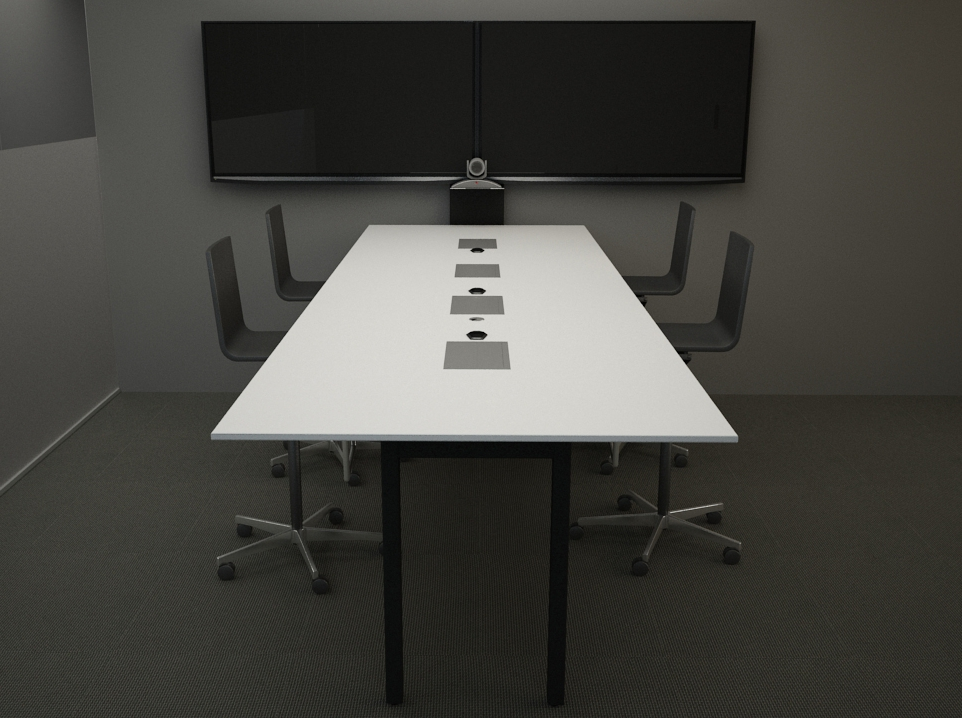 Conference Products - Innovant's conference products deliver the same modern aesthetic as our workstations and private office lines, with intelligent cabling and electrics features that can be scaled to suit requirements.