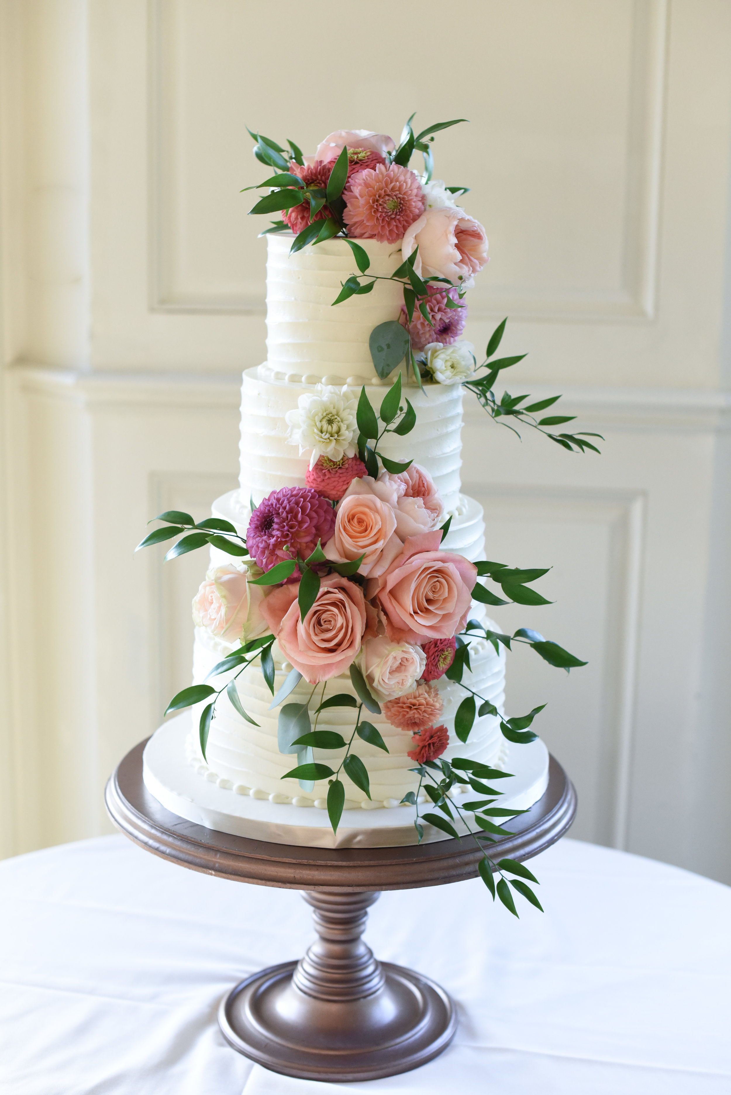 Desserts By Dana Wedding Cake