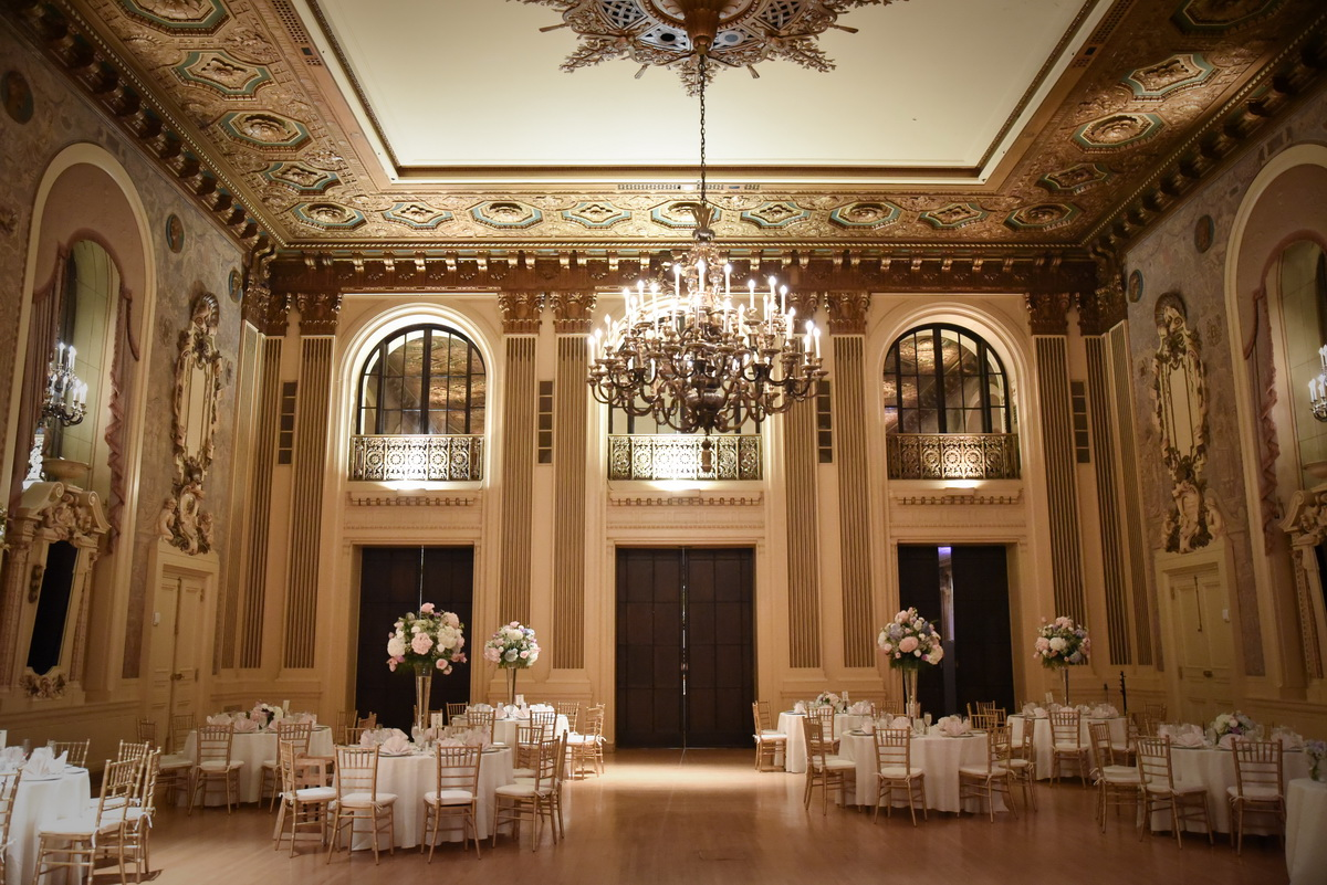 gold ballroom at Hotel dupont