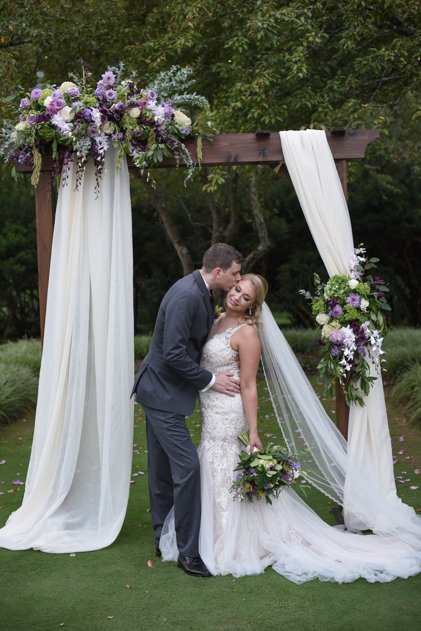 Brantwyn Estate garden wedding