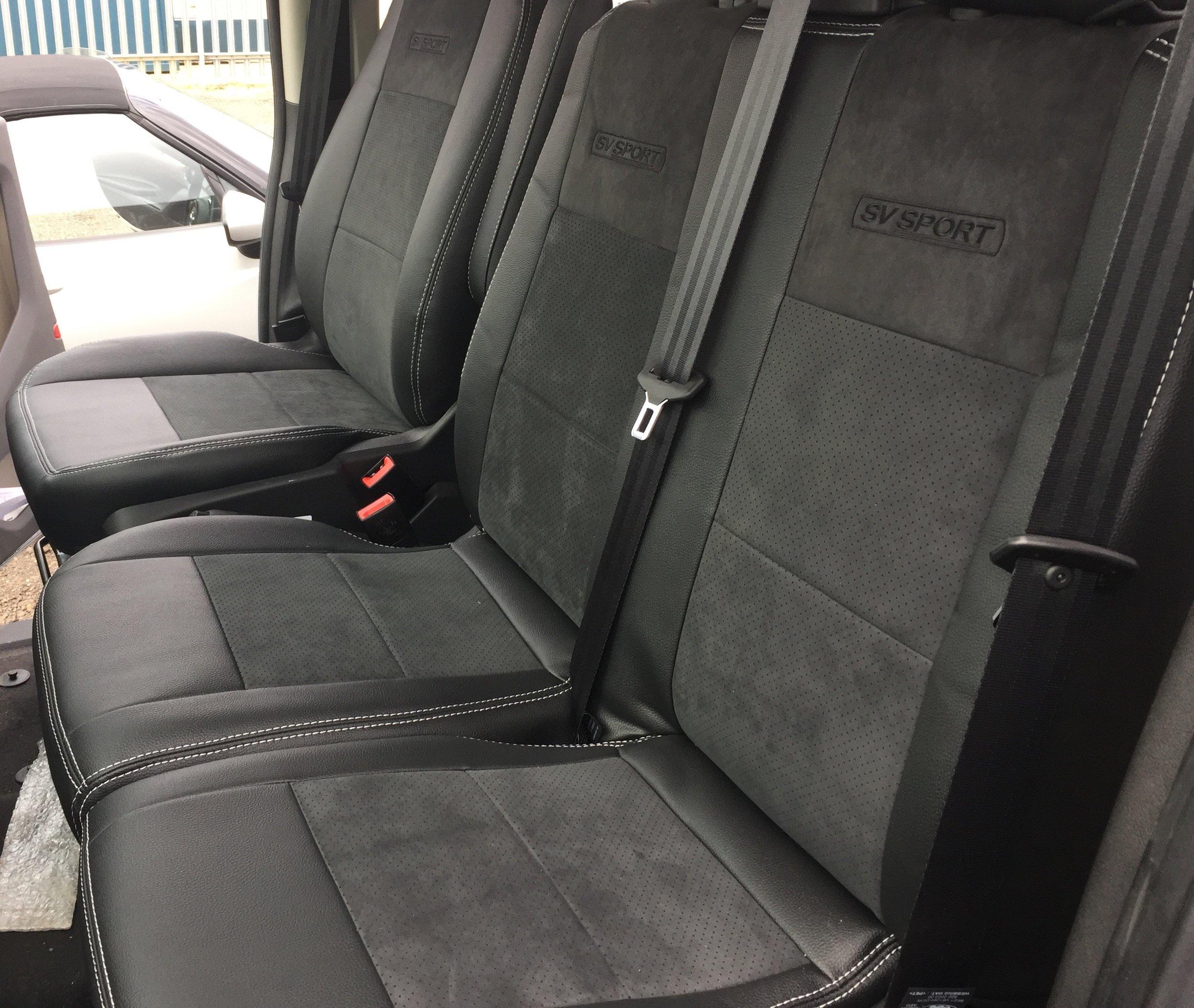 Custom Alcantara Seat pack starting from £495 + VAT