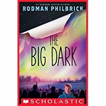 The Big Dark - Rodman PhilbrickCharlie and his family must find a way to survive when all electricity unexpectedly goes off at midnight on New Year's Eve. While the community is at odds with a local group of survivalists, Charlie undertakes a dangerous journey to get medicine for his diabetic mother.