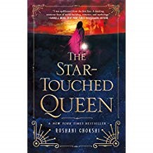 The Star-Touched Queen - Roshani Chokshi978-1-25008547-4When Maya, daughter of a king, was born, she was cursed with a terrifying horoscope that warns of death and destruction. She has been met with fear and unkindness since. When her father, the Raja, plans to marry her to a prince of her choice to save his warring kingdom, Maya finds a promising suitor in Amar from Akaran. Amar and his city are each not what Maya expect, however. The Star-Touched Queen features lyrical prose, a ghastly world, reincarnation, death, destruction, romance, and so much more!