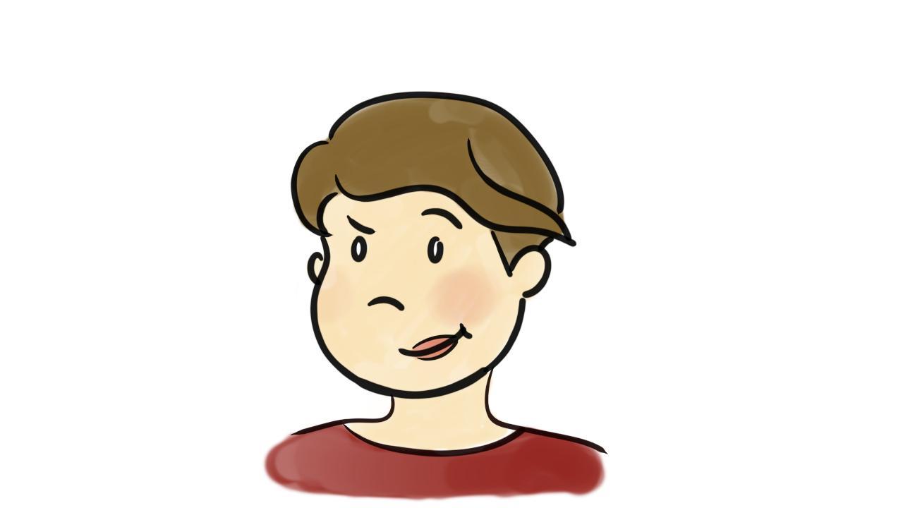 Liz Watercolor Icon