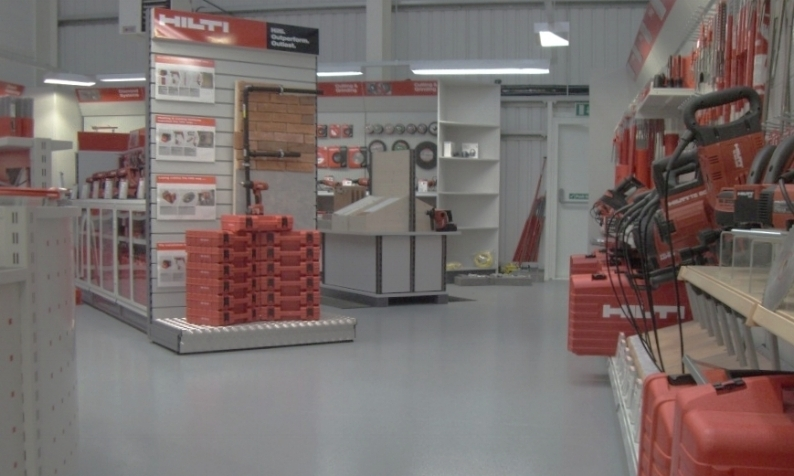 turn-key operation retail trade store fit out