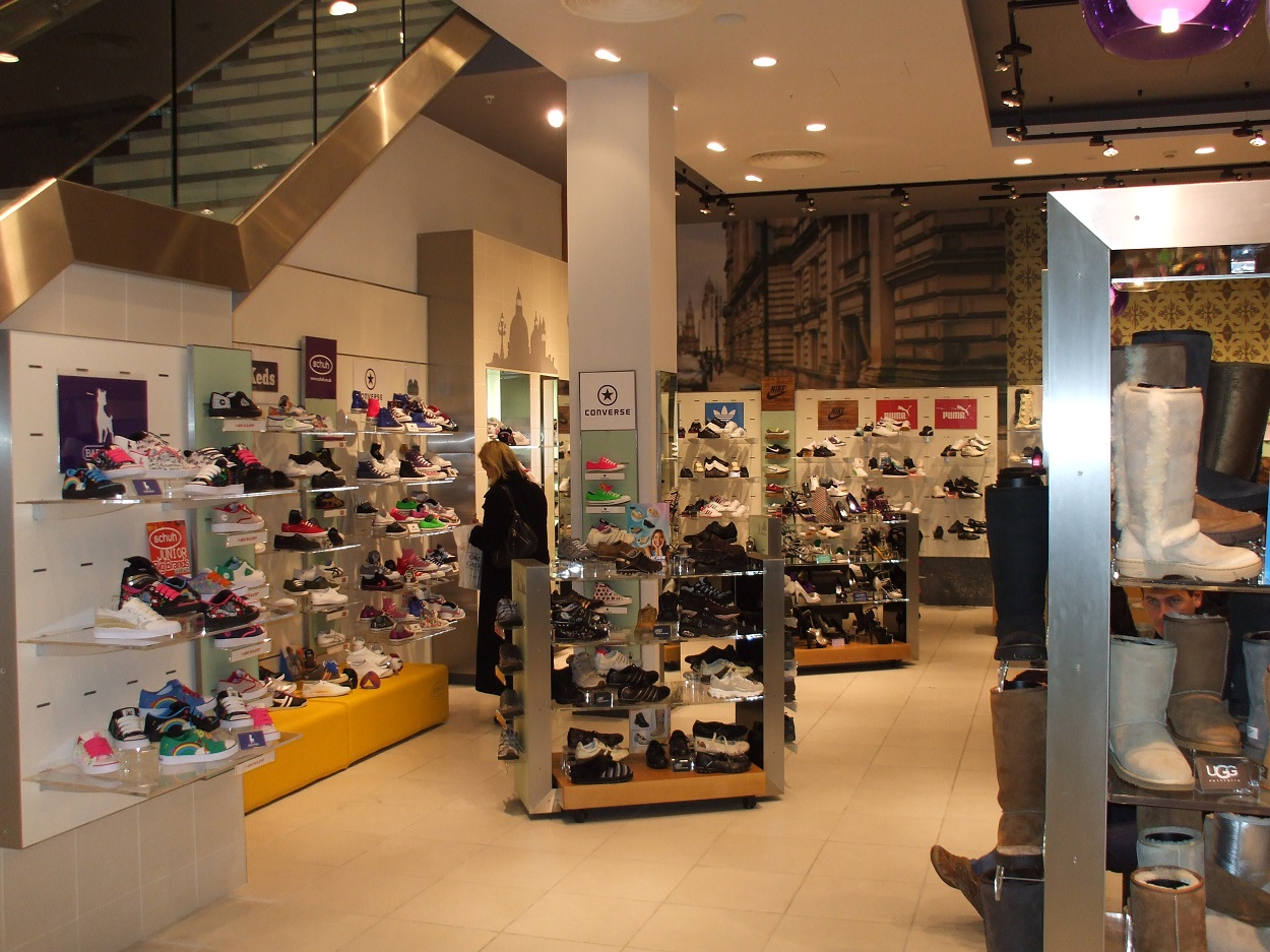 Maximising use of retail space