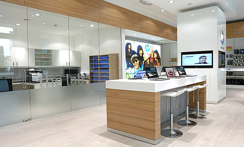HP Concept store fit out