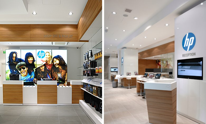 HP Concept Store - retail store and customer service