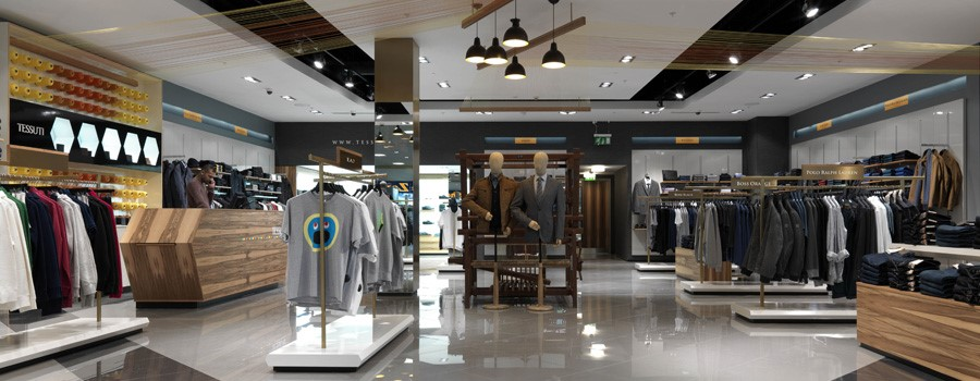 Complete Tessuti store fit-out