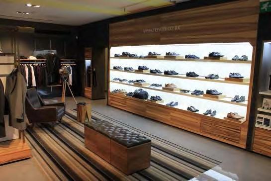 Specialist retail display lighting