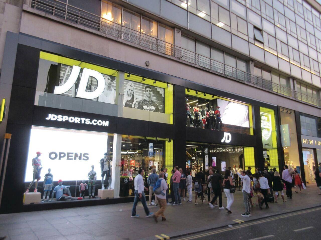 JD Sports flagship store Oxford street