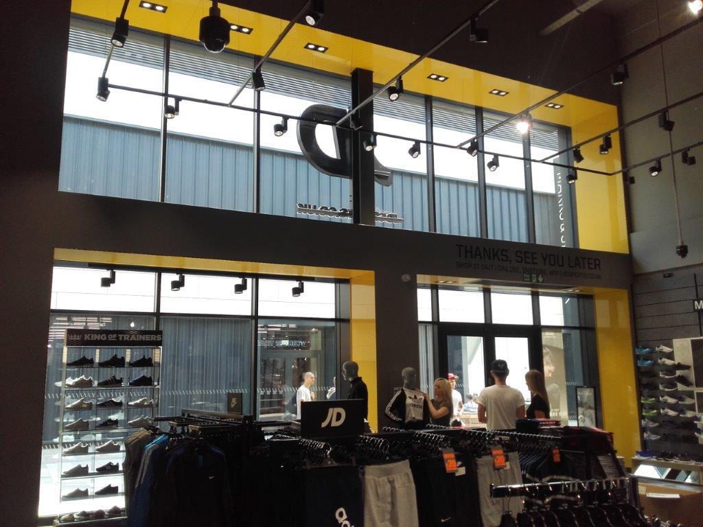 Inviting, branded shopfront